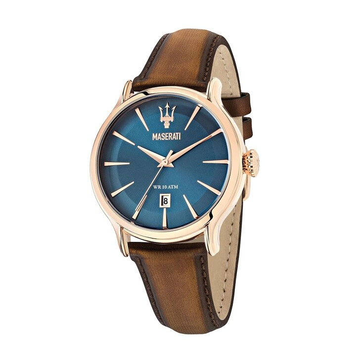 Uhr, Maserati, Watch Hau Epoca 42mm Silver