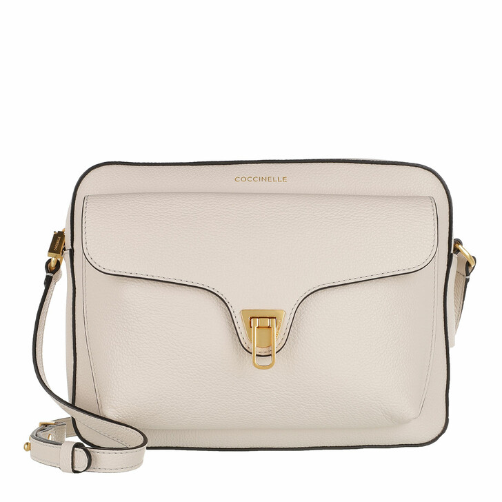 Handtasche, Coccinelle, Beat Soft Crossbody Bag Lambskin White