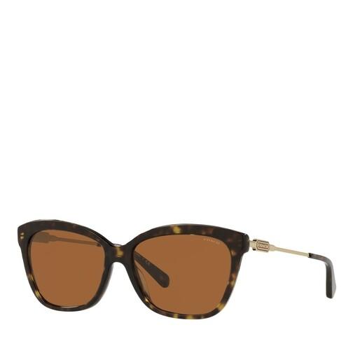 coach -  Sonnenbrille - 0HC8305 - in braun - für Damen