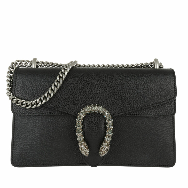 Handtasche, Gucci, Dionysus Shoulder Bag Black