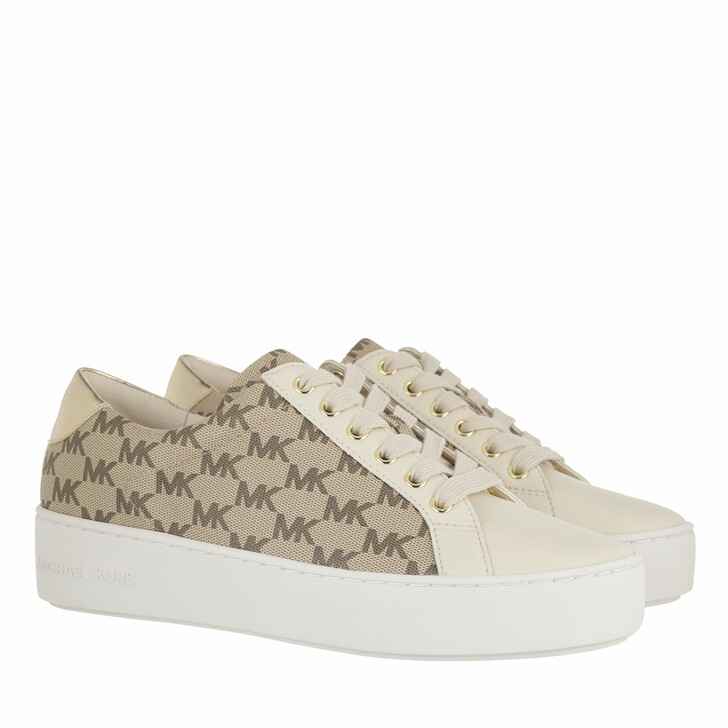 shoes, MICHAEL Michael Kors, Poppy Lace Up Natural