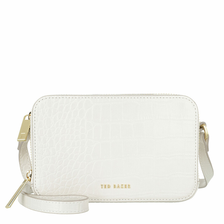 bags, Ted Baker, Stina Double Zip Mini Camera Bag Ivory
