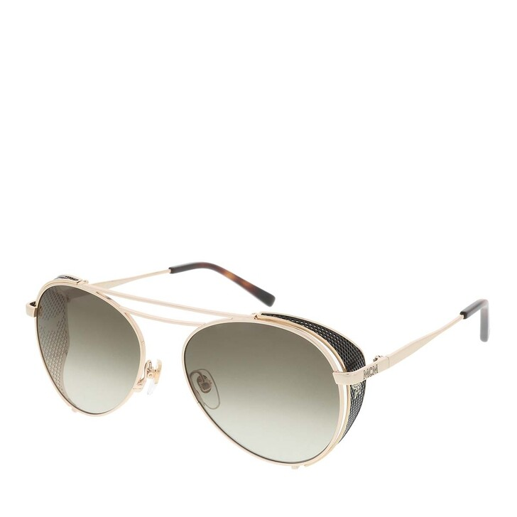 Sonnenbrille, MCM, MCM129S Shiny Gold/Khaki