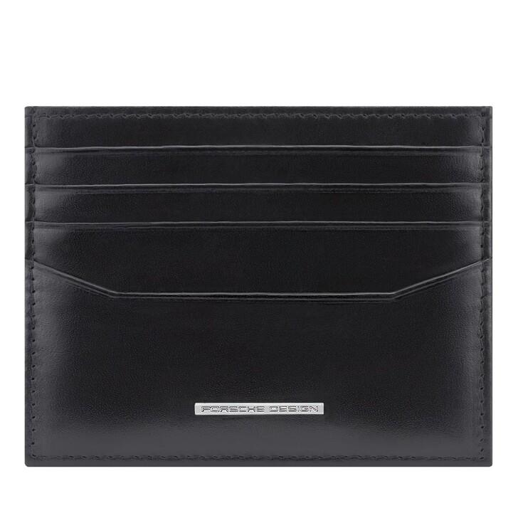 wallets, Porsche Design, Classic Card Holder Black