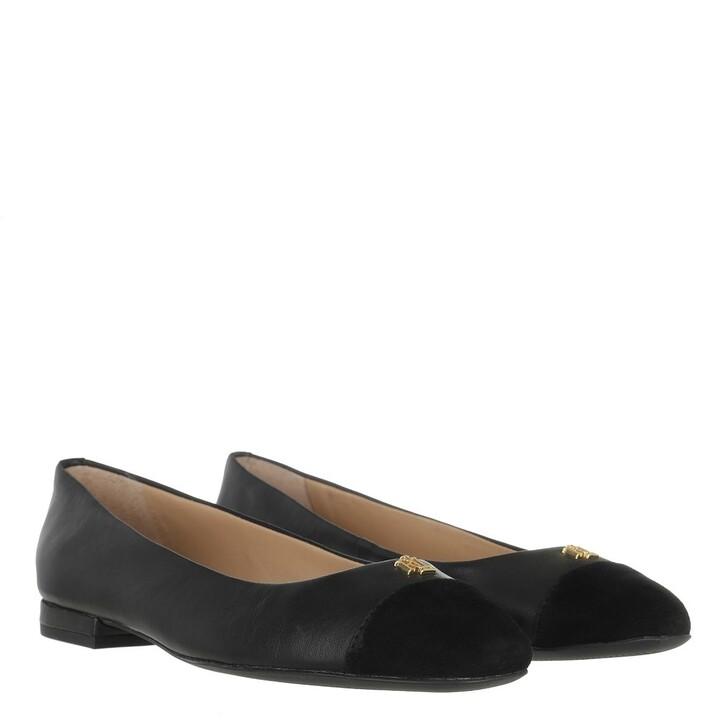 Schuh, Lauren Ralph Lauren, Gaines Flats Casual Black/Black
