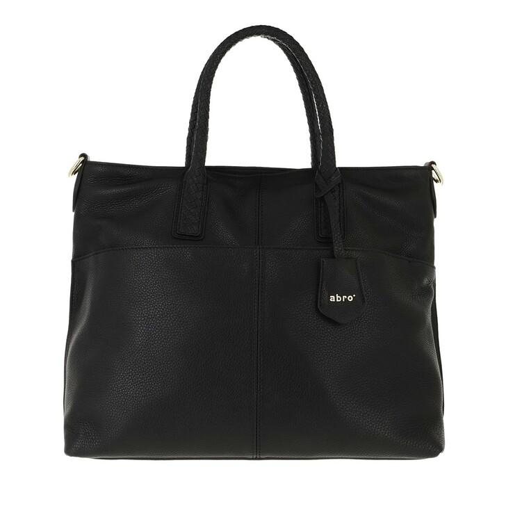 Handtasche, Abro, Large Shopper Sira Black