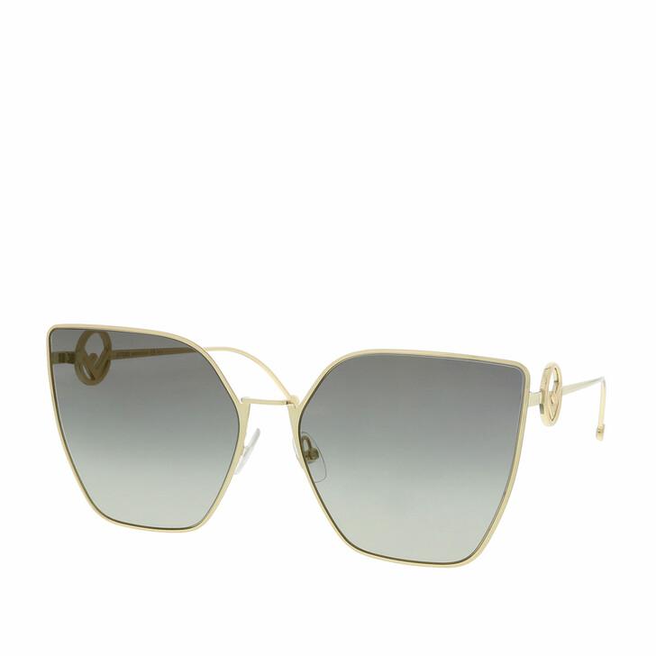 sunglasses, Fendi, FF 0323/S Grey Gold