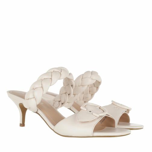 coach -  Sandalen & Sandaletten - Mollie Leather Sandal - in beige - für Damen