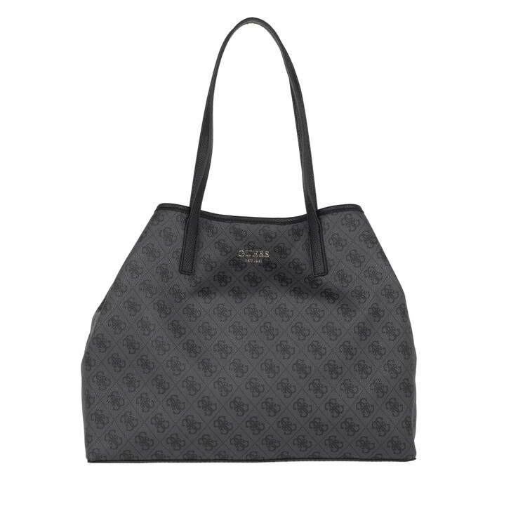 Handtasche, Guess, Vikky Large Tote Coal