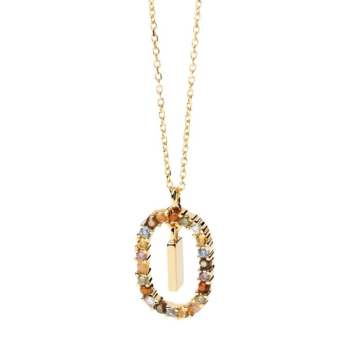 Kette, PDPAOLA, Necklace Letter I Yellow Gold