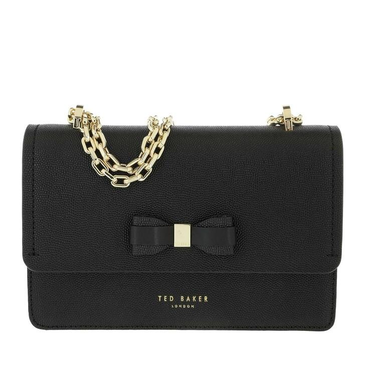 Handtasche, Ted Baker, Appril Bow Mini Crossbody Bag Black