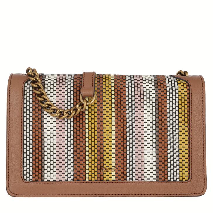 Handtasche, Abro, Crossbody Bag Frame Big Cuoio