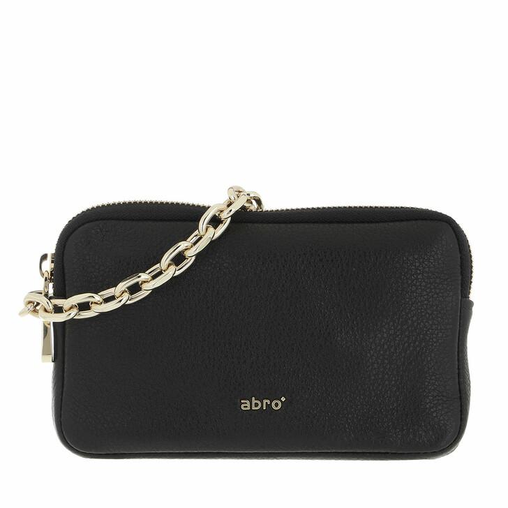 bags, Abro, Crossbody Bag   Black/Gold