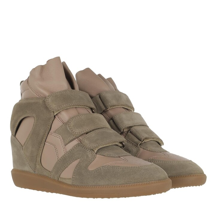 Schuh, Isabel Marant, Buckee Sneakers Taupe