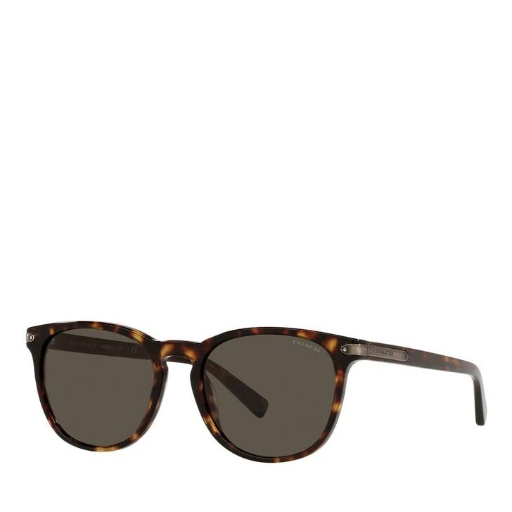 Sonnenbrille, Coach, 0HC8284 Dark Tortoise