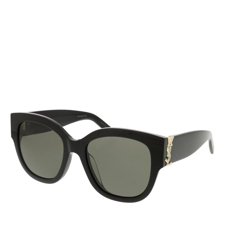 sunglasses, Saint Laurent, SL M95/F-001 56 Sunglass Woman Acetate Black-Black-Grey