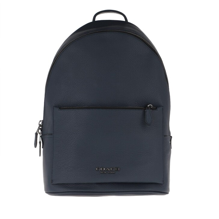 Handtasche, Coach, Men Logo Backpack Midnight Navy