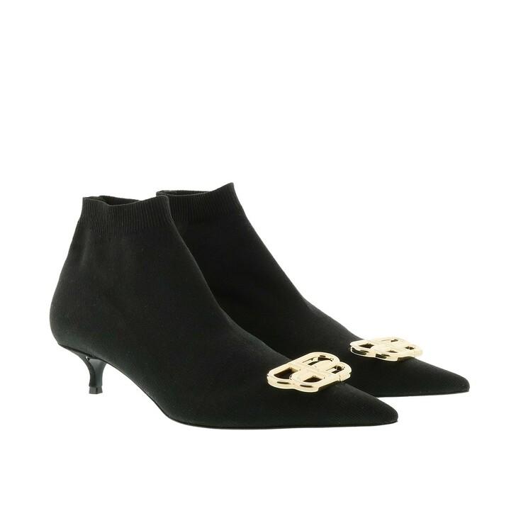 Schuh, Balenciaga, Knife Sock Bootie Black/Gold