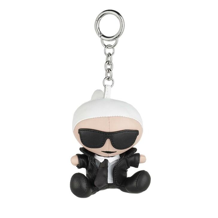 Schlüsselanhänger, Karl Lagerfeld, K/Ikonik Karl Doll Keychain  Black