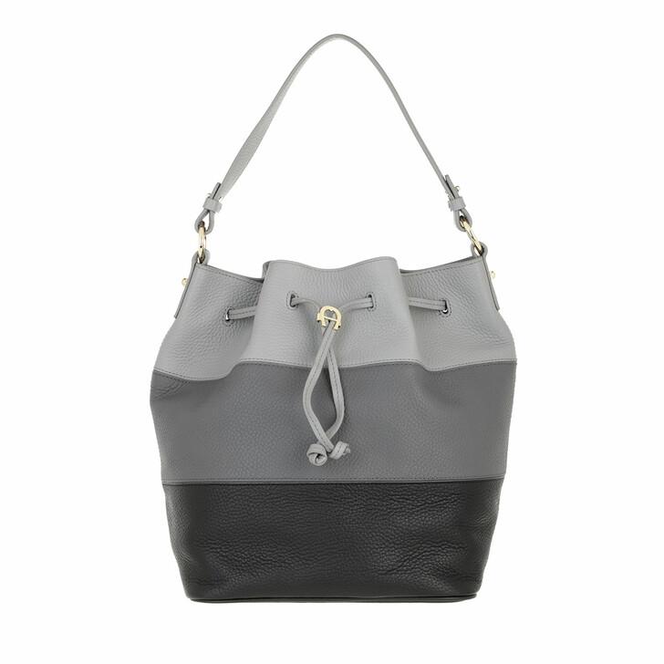 bags, AIGNER, Tara Handbag Black