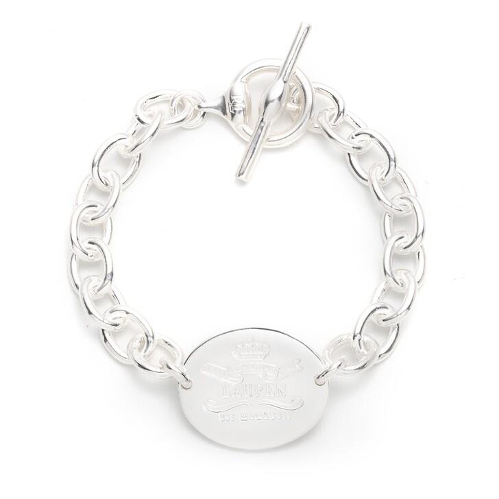 """Armreif, Lauren Ralph Lauren, Bracelet 7.25"""" HERITAGE FLEX Silver"""