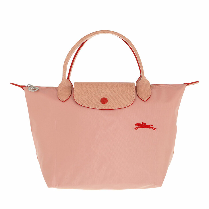 bags, Longchamp, Le Pliage Club Handbag  Rose