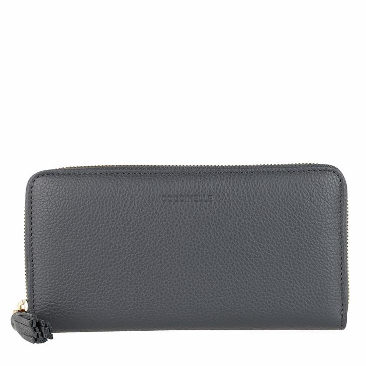 Geldbörse, Coccinelle, Wallet Bottalatino Leather Ash Grey