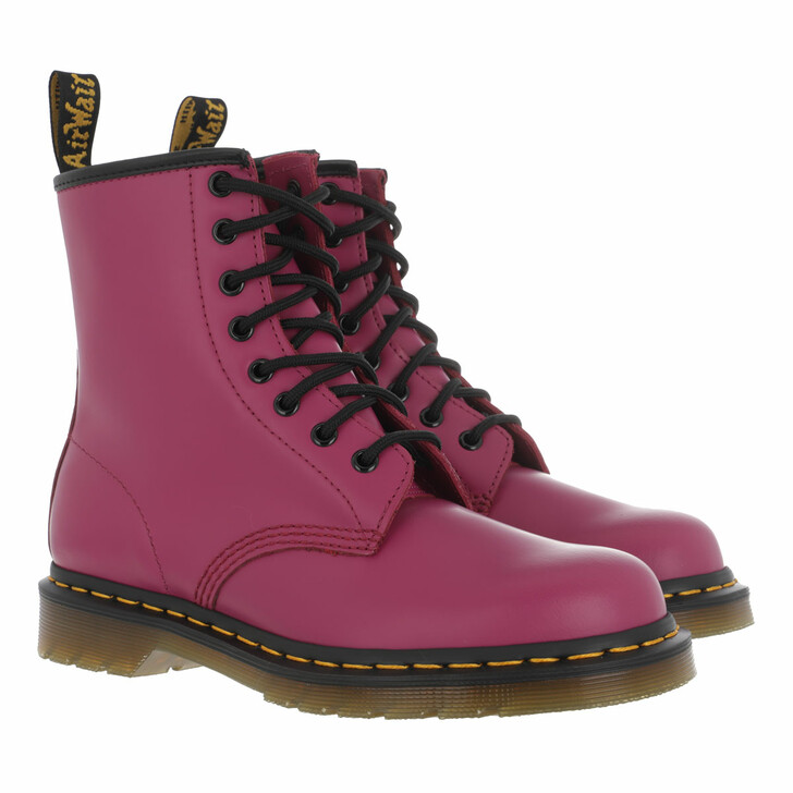 shoes, Dr. Martens, 1460 Smooth Fuchsia Smooth
