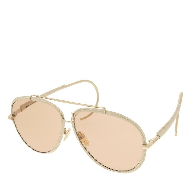 sunglasses, Chloé, CH0080S-001 62 Sunglass Woman Metal Gold-Gold-Pink