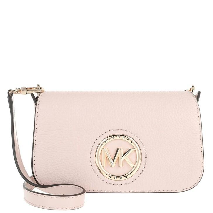 Handtasche, MICHAEL Michael Kors, Samira Small Convertible Crossbody Bag Soft Pink