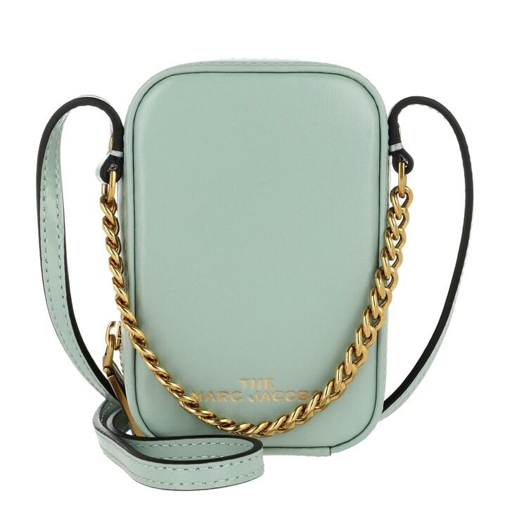 Handtasche, Marc Jacobs, The Mini Vanity Crossbody Bag Marine Green