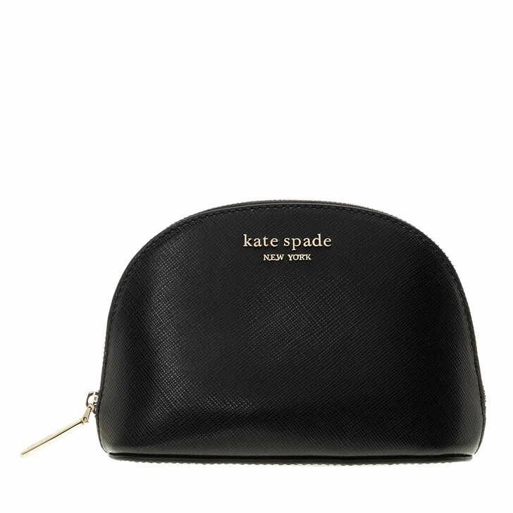 necessaires, Kate Spade New York, Small Dome Cosmetic Black