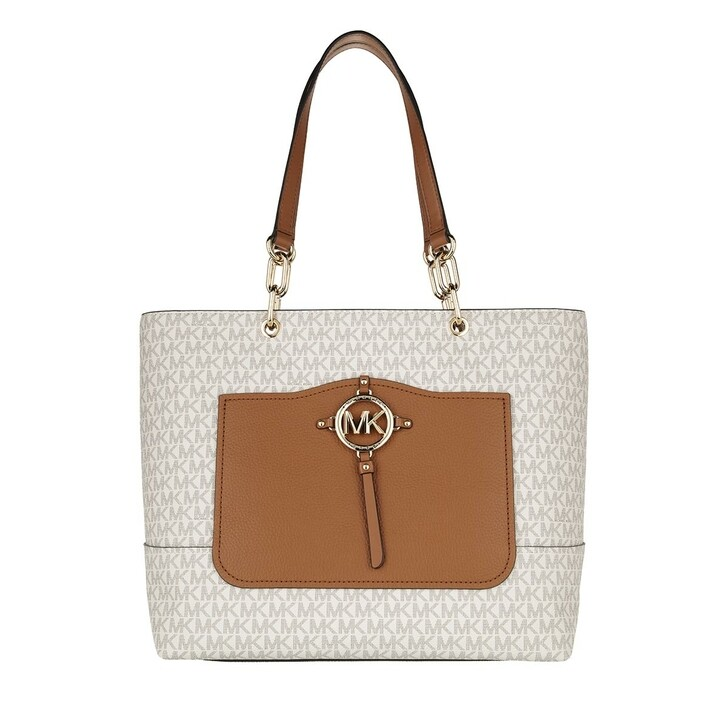 Handtasche, MICHAEL Michael Kors, Amy Large Tote Vanilla/Acrn