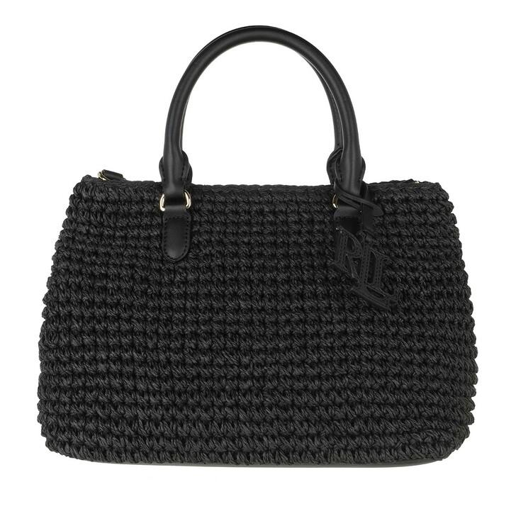 Handtasche, Lauren Ralph Lauren, Marcy Ii Satchel Mini Black/Black