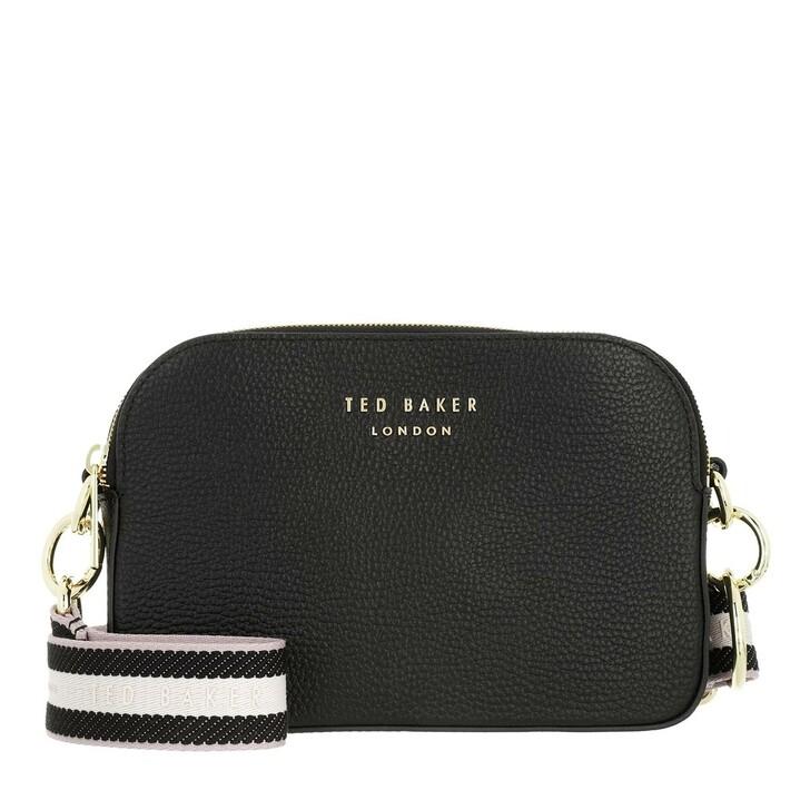 Handtasche, Ted Baker, Amerrah Branded Webbing Strap Camera Bag Jet-Black