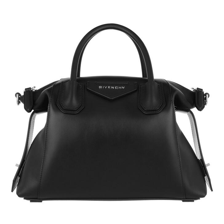 bags, Givenchy, Small Antigona Crossbody Bag Soft Smooth Leather Black