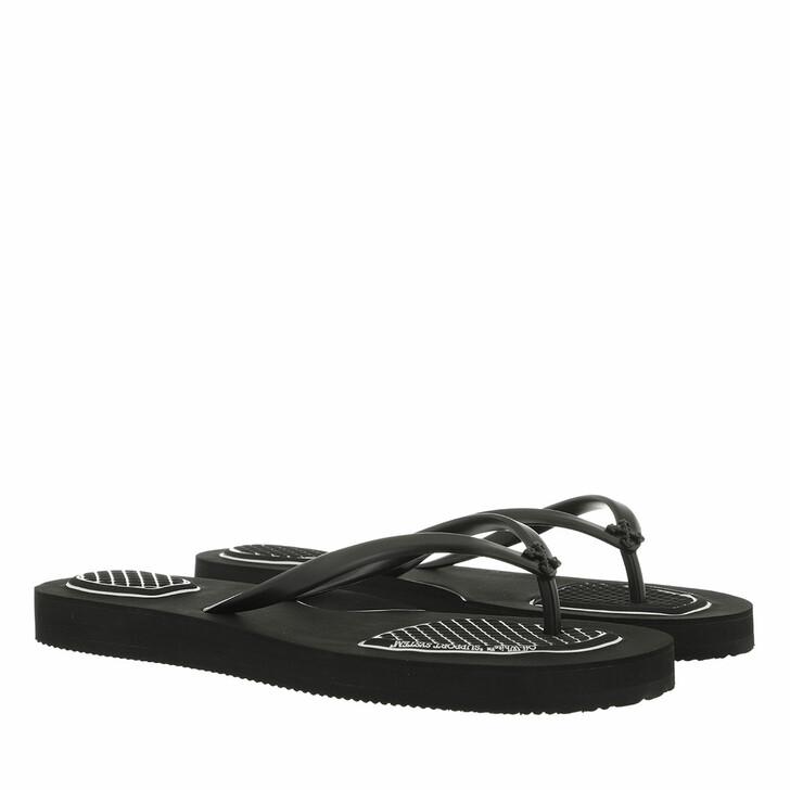 shoes, Off-White, Flip Flop Black