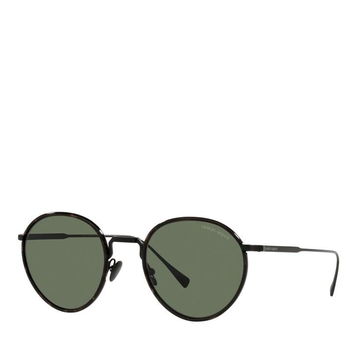 sunglasses, Giorgio Armani, 0AR6103J Matte Black/Green