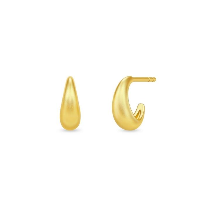 earrings, Julie Sandlau, Sparrow Mini Hoops Gold