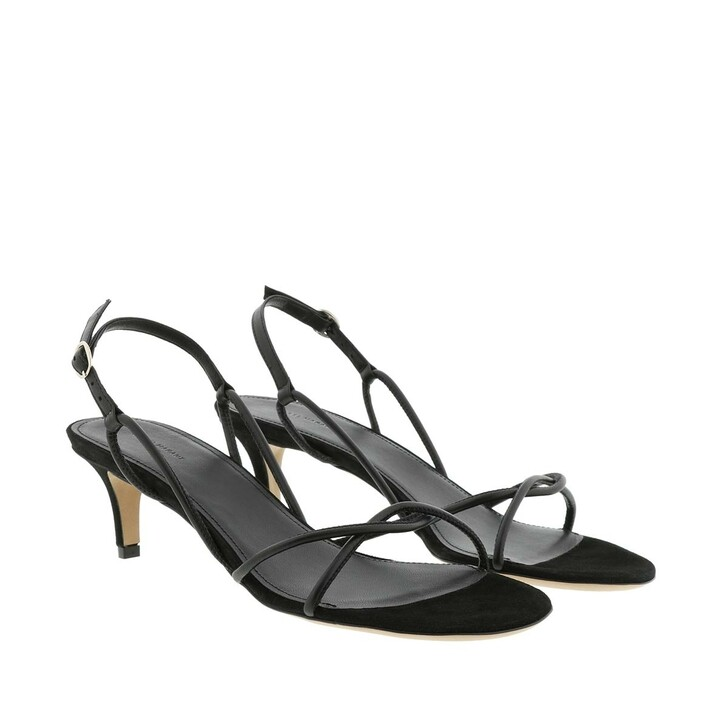 Schuh, Isabel Marant, Sandals Leather Black
