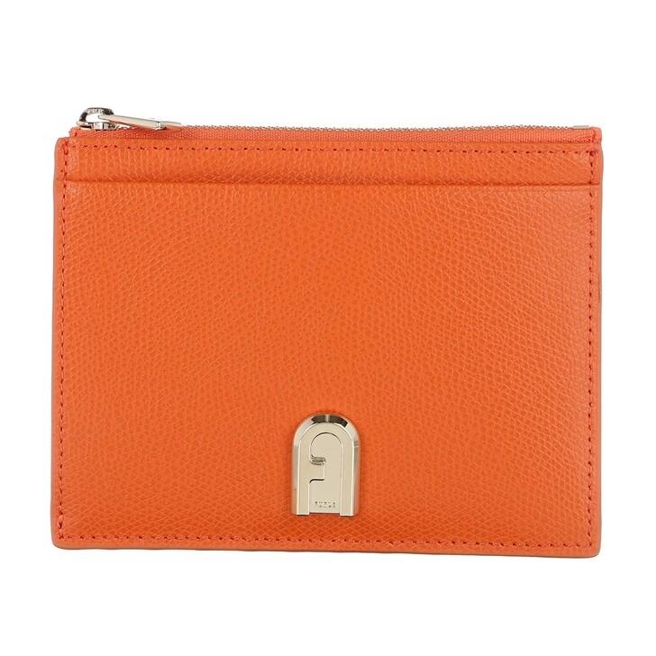wallets, Furla, 1927 Medium Card Case Orange