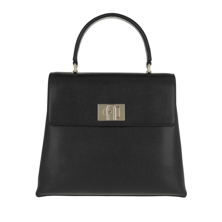 Handtasche, Furla, 1927 Medium Handle Bag Black