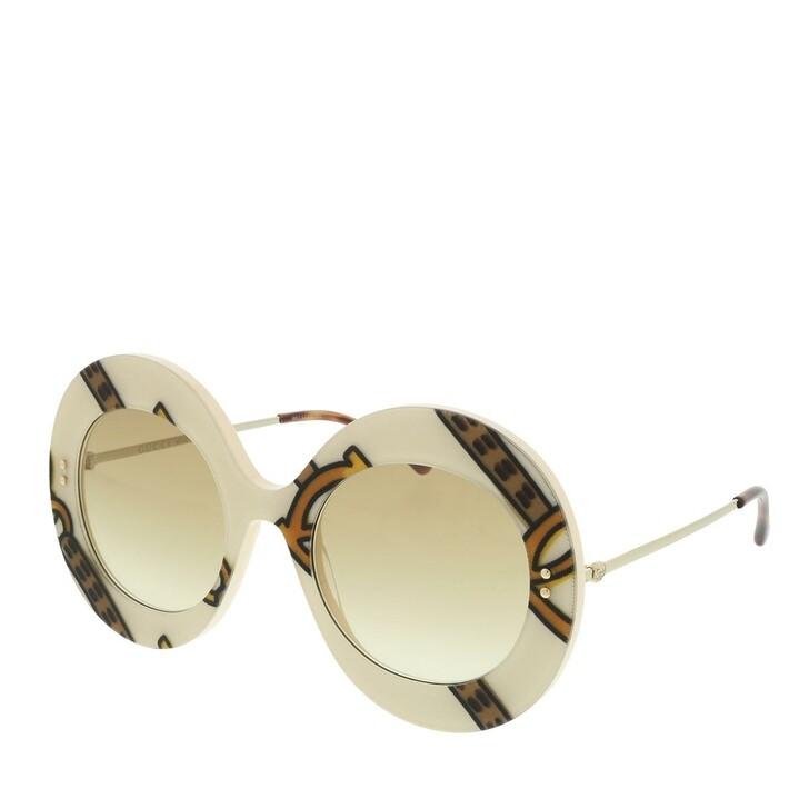Sonnenbrille, Gucci, GG0894S-003 53 Sunglass WOMAN ACETATE IVORY