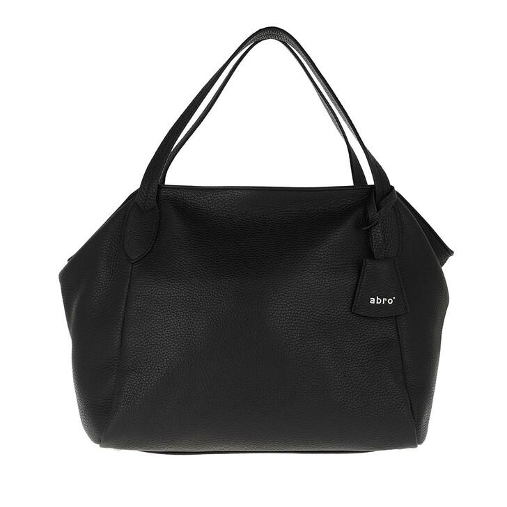 Handtasche, Abro, Cervo Handle Bag Black Nickel