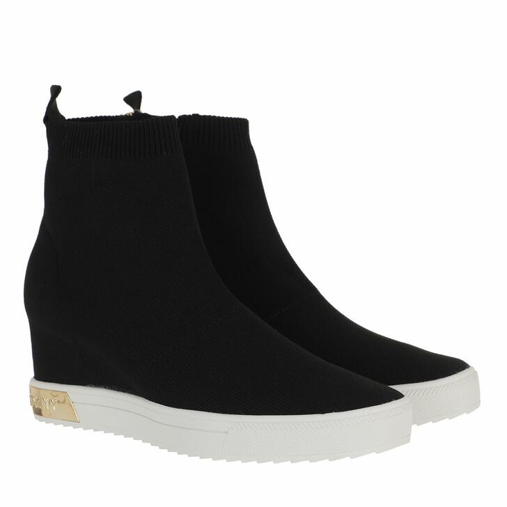 Schuh, DKNY, Cali Wedge Sneaker Black Gold