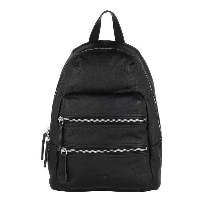 Reisetasche, Liebeskind Berlin, Saku Medium Backpack Black