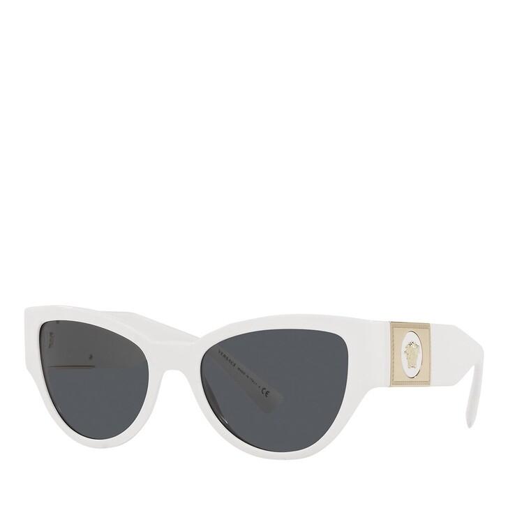 sunglasses, Versace, 0VE4398 WHITE
