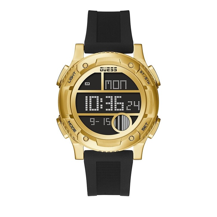 watches, Guess, MENS TREND WATCH Black