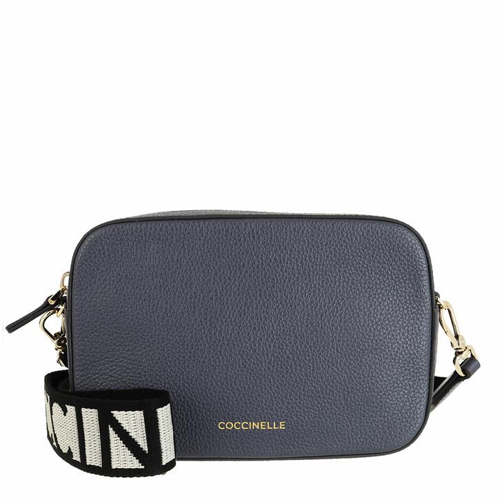 Handtasche, Coccinelle, Mini Bag Bottalatino Leather Ash Grey