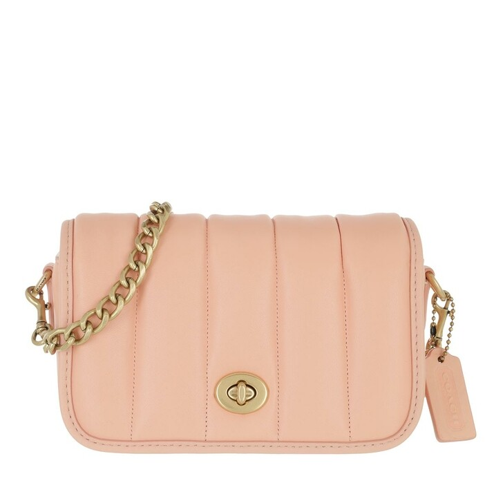 bags, Coach, The Coach Originals Puffy Quilted Dinky Crossbody  B4/Faded Blush